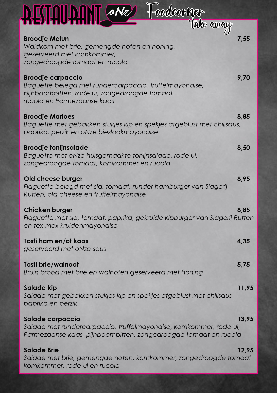 Restaurant-Onz