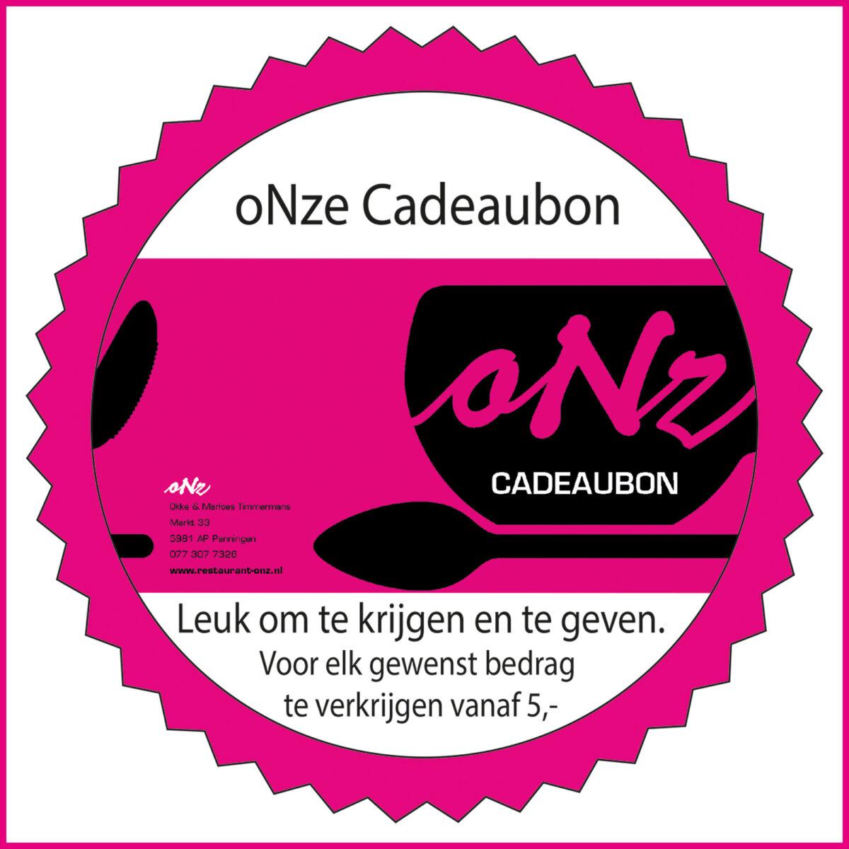 Restaurant oNZ